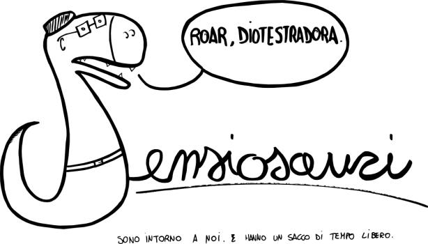 Pensiosauri - Roar, diotestradora!