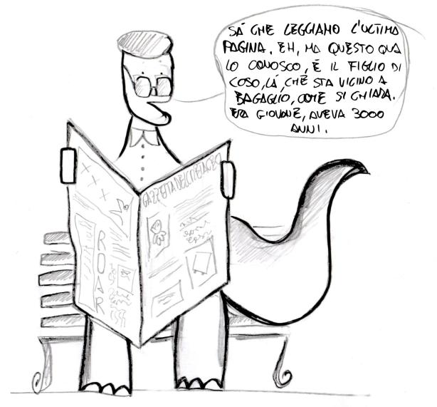I pensiosauri - L'ultima pagina è la nuova prima pagina