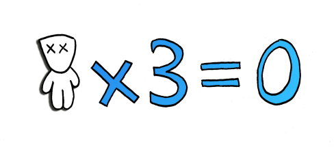 L'omino e i risvolti psicologici della matematica