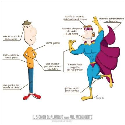 Il signor Qualunque e Mr. Megliodite